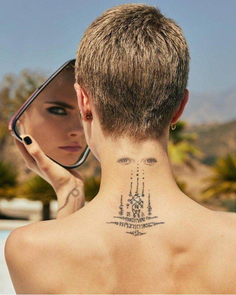 татуировки моделей