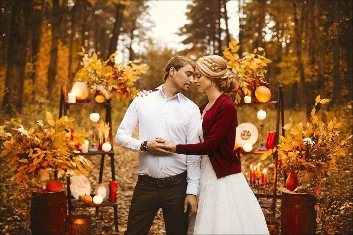 Осенняя свадьба 2017